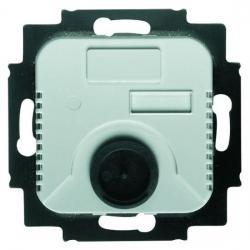 Raumtemperaturregler-Einsatz - mit Öffnerkontakt und Schalter für Nachtabsenkung - BUSCH-JAEGER 10 A / 230 V - (82,49 Euro)