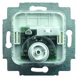 Raumtemperaturregler-Einsatz - mit eingebautem Schalter zur Umschaltung Heizen/Kühlen - BUSCH-JAEGER 10 A Heizen oder 5 A Kühlen - (103,59 Euro)