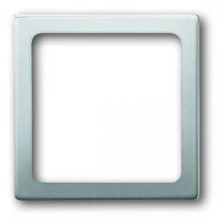 Zentralscheibe für LED-Infolicht-Einsatz - Serie Pur Edelstahl - BUSCH-JAEGER edelstahl (Kunststoff lackiert) - (26,66 Euro)