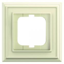 1-fach - Abdeckrahmen - Kunststoff - Serie Busch-Dynasty - BUSCH-JAEGER elfenbeinweiß - (8,60 Euro)