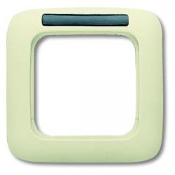1-fach - Abdeckrahmen mit Sichtfenster - Serie Busch-Duro 2000 SI - BUSCH-JAEGER weiß (cremefarbenes elektroweiß) - (5,33 Euro)