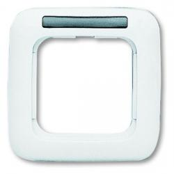 1-fach - Abdeckrahmen mit Sichtfenster - Serie Reflex SI - BUSCH-JAEGER alpinweiß (helles reinweiß) - (5,23 Euro)