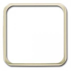 Zwischenrahmen für Normgeräte 50 x 50 mm - Serie Busch-Duro 2000 SI/SI Linear - BUSCH-JAEGER weiß (cremefarbenes elektroweiß) - (2,72 Euro)