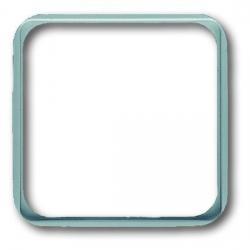 Zwischenrahmen für Normgeräte 50 x 50 mm - Serie Reflex SI/SI Linear - BUSCH-JAEGER alpinweiß (helles reinweiß) - (2,61 Euro)