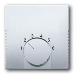Zentralscheibe für Raumtemperaturregler-Einsatz - ohne Schalter - Pur Edelstahl - BUSCH-JAEGER edelstahl (Kunststoff lackiert) - (25,74 Euro)
