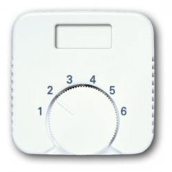 Zentralscheibe für Temperaturanzeige-Raumtemperaturregler-Einsatz - ohne Schalter - Reflex SI/SI Linear - BUSCH-JAEGER alpinweiß (helles reinweiß) - (5,76 Euro)