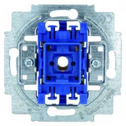 Wipp-Taster-Einsatz - Schließer 1-polig mit 2 unabhängigen Meldekontakten - BUSCH-JAEGER 10 A / 250 V - (11,30 Euro)
