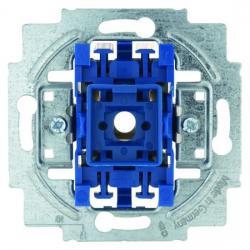 Wipp-Taster-Einsatz - Wechsler - Öffner oder Schließer mit N-Klemme - BUSCH-JAEGER 10 A / 250 V - (8,44 Euro)