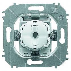 Druckfolge-Taster-Einsatz - Doppeltaster - 2 x Wechsler (Öffner /Schließer) - nur für Serie Impuls - BUSCH-JAEGER 10 A / 250 V - (19,92 Euro)