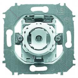Druckfolge-Taster-Einsatz - Wechsler (Öffner /Schließer) ohne N-Klemme - nur für Serie Impuls - BUSCH-JAEGER 10 A / 250 V - (13,59 Euro)