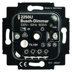 Druck-/Drehdimmer-Einsatz für Glühlampen und 230 V Halogenlampen - 60-600 W - BUSCH-JAEGER 60-600 W - (70,30 Euro)