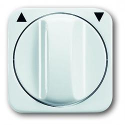 Zentralscheibe für Drehgriff-Jalousie-Schalter/Taster-Einsatz - Reflex SI/SI Linear - BUSCH-JAEGER alpinweiß (helles reinweiß) - (6,47 Euro)