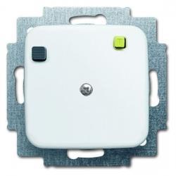 Fehlerstrom-Schutzschalter-Einsatz Buschmat FI, mit Verbindungsleiter - Serie Reflex SI/SI Linear - BUSCH-JAEGER alpinweiß (helles reinweiß) - (142,52 Euro)