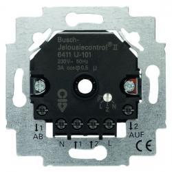 Jalousiecontrol II - Jalousie-Einsatz ohne Sensor-Anschlussmöglichkeit - BUSCH-JAEGER 230 V - (120,85 Euro)