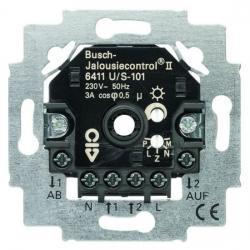 Jalousiecontrol II - Jalousie-Einsatz mit Sensor-Anschlussmöglichkeit - BUSCH-JAEGER 230 V - (136,20 Euro)