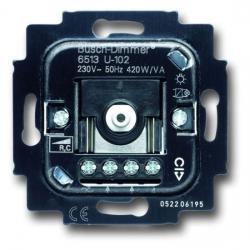Druck-/Drehdimmer-Einsatz für elektronische Trafos - 40-420 W/VA - BUSCH-JAEGER 40-420 W/VA - (100,71 Euro)