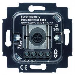 Serien - Tastdimmer-Einsatz für elektronische Trafos - 40-315 W/VA pro Kanal - BUSCH-JAEGER 40-315 W/VA pro Kanal - (145,79 Euro)