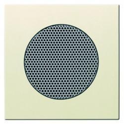 Zentralscheibe für UP-Lautsprecher ohne Abdeckung - Busch-AudioWorld - Serie Busch-Dynasty - BUSCH-JAEGER elfenbeinweiß - (12,80 Euro)