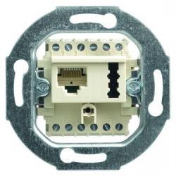 UAE/TAE - Kombidosen - Einsatz für 2 Terminals - BUSCH-JAEGER weiß (cremefarbenes elektroweiß) - (21,91 Euro)