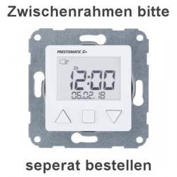 Jalousie-Zeitschaltuhr - Prestomatic S+ - PRESTO-VEDDER 1 Stück - mit Hersteller-Schriftzug - ultraweiß (helles reinweiß) - (40,56 Euro)