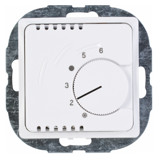 Raumthermostat mit Öffner-Kontakt - Serie Paris / HK 05 - KOPP Schaltleistung 2.200 W - arktis-weiß - (57,23 Euro)