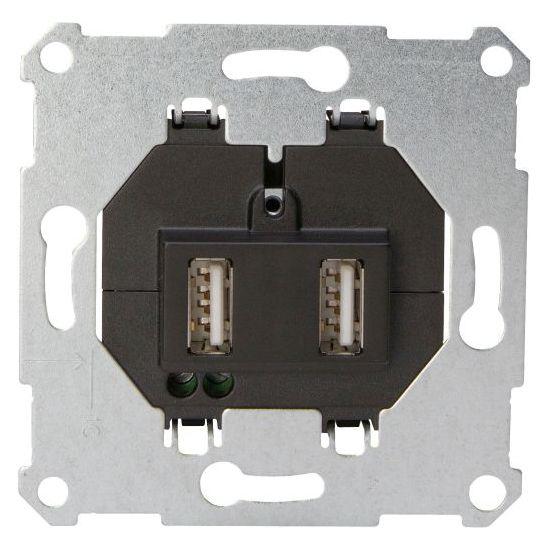 USB-Ladegerät UP - zum Laden von zwei USB-Geräten - KOPP mit zwei Ausgängen - (44,91 Euro)