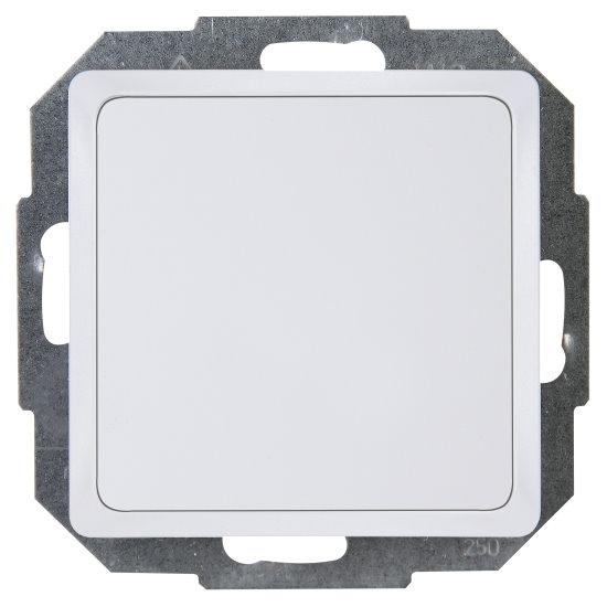 Blindabdeckung mit Tragplatte - Serie Paris / HK 05 - KOPP arktis-weiß - (6,37 Euro)
