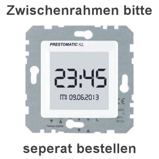 Jalousie-Zeitschaltuhr - Prestomatic XL mit großem Touchscreen und Sonnen-/ Dämmerungsautomatik - PRESTO-VEDDER ultraweiß (helles reinweiß) - (99,70 Euro)