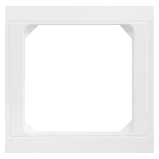 Zwischenrahmen für Normgeräte 50 x 50 mm - Serie Malta - KOPP arktis-weiß - (4,26 Euro)