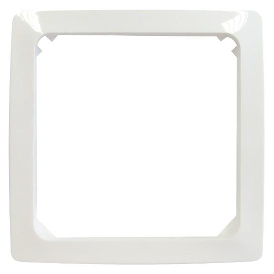 Zwischenrahmen für Normgeräte 50 x 50 mm - Serie Venedig - KOPP rein-weiß - (3,87 Euro)