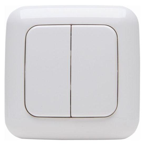 Funk-Sender - Doppel-Wandschalter 2/4 Funktionen - Serie Standard ...