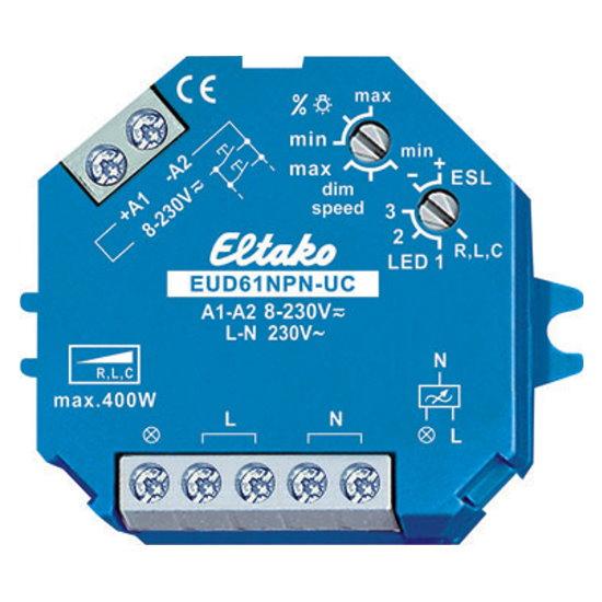 Stromstoß Universal Dimmschalter Mit N Anschluss Speziell Für Dimmbare 230  V LED Lampen   ELTAKO